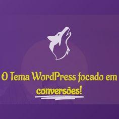 Com o tema Wolf WP você consegue aumentar drasticamente as conversões do seu site/blog através de um layout responsivo e agradável ao usuário. O Wolf WP é um tema de WordPress voltado para gerar conversões. Essa otimização pode ser amplamente utilizada por blogs, sites de afiliados, e-commerces e em alguns outros modelos. Seus recursos e benefícios geram um ambiente simples, objetivo, personalizável e favorável às conversões. Tema Wordpress, Wolf, Sites, Movies, Movie Posters, Goal, Environment, Models, Films