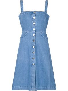 01303605584 Shop Stella McCartney  Linda  denim dress in The Webster from the world s  best independent