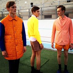 A colour story at Carven @PittiUomo