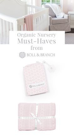 Give your tiny ones the love and affection they deserve with Boll & Branch's collection of 100% organic cotton nursery essentials. Just like their classic bedding, these crib sheets and baby blankets are superlatively soft, ethically made, and meticulously finished so that they look perfect for a long time. Visit BollandBranch.com to shop the whole collection.
