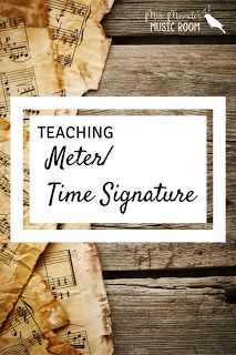 Teaching Meter/ Time Signature: Great ideas for teaching meter in your music classroom! Music Lessons For Kids, Music Lesson Plans, Singing Lessons, Singing Tips, Learn Singing, Violin Lessons, Music Activities, Music Games, Music Classroom