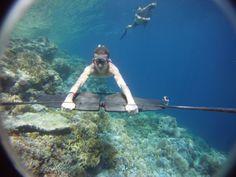 Subwing låter dig flyga fram och ha riktigt kul under vatten http://blish.se/d34b154cf5 #subwing #dykning #fritid
