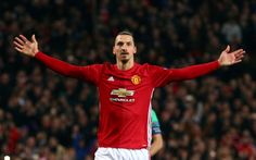 Manchester United name Zlatan Ibrahimovic in their Champions League squad