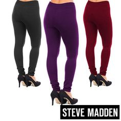 Steve Madden Women's Fleece Lined Footless Tights-Leggings http://www.shareasale.com/r.cfm?u=740068&b=212921&m=25790&afftrack=&urllink=http://www.gearxs.com/steve-madden-womens-fleece-lined-leggings-footless-fashion Price Before Code: $6.99 Price After Code: $3.99 Coupon Code: GXS3
