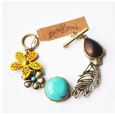Lucky Brand Mother's Day please? Diy Jewelry, Jewelry Bracelets, Jewelery, Jewelry Making, Antoine Bourdelle, Lucky Brand Jewelry, Diy Accessories, Unique Fashion, Wearable Art