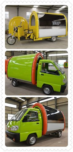 tricycle food truck