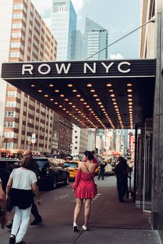 Checking In: The Row, NYC