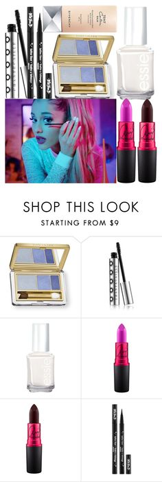 """Psychedelic Chic"" by golda-grais ❤ liked on Polyvore featuring beauty, Estée Lauder, Chantecaille, Essie, MAC Cosmetics, Kat Von D, Givenchy, Blue and eyelashes"