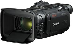 Canon UHD Camcorder with Dual-Pixel Autofocus Camcorder, Gopro, Distancia Focal, Wireless Video Camera, Carte Sd, Optical Image, Thing 1, Flashcard, Central Processing Unit