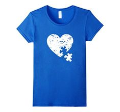 Womens Autism Awareness Heart Puzzle Shirt Autism T-Shirt XL Royal Blue Autism Awareness Shirt with a Heart and a Puzzle element goes out. Runs small so size up. Check more of our t-shirts by clicking on the Brand Name Uni...  #Autism #AutismAwareness #AutismHour #AutismInMyLife #AutismParents #AutismTMI #Autistic #Awareness #Blue #Heart #Puzzle #Royal #Shirt #TShirt #Womens #Xl