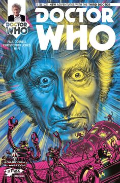 Doctor Who: The Third Doctor #1 (Forbidden Planet Variant by Boo Cook).