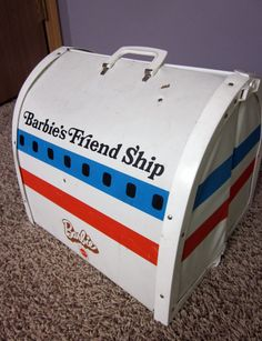 Vintage Barbie Friend Ship Airplane