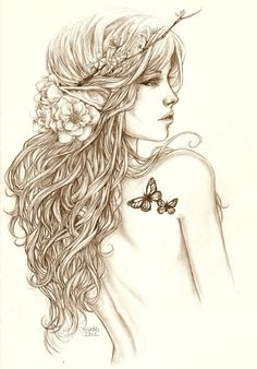 Beautiful Elf by jadedice on deviantart.