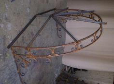 Wrought Iron Awning Frame