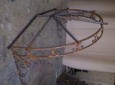 Wrought Iron Awning Frame