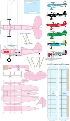 "52"" Simple Biplane"