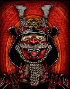 Resultado de imagen de pirate samurai art