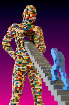 nathan sawaya art lego/promotion