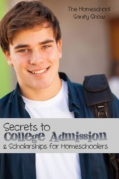 College Admission and Scholarship Secrets for Homeschoolers with Lee Binz - A podcast that's the ultimate guide to college-prep homeschooling!