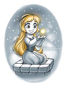 "Winter Eilonwy by daekazu.deviantart.com on @deviantART - Fourteenth in a series showing Disney girls in winter: Eilonwy from ""The Black Cauldron"". Definitely a relatively unknown film - I just remember reading the original book."