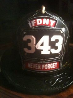 fdny 343-that's the number of firefighters who died in the WTC Twin Towers on 9-11-01 RIP