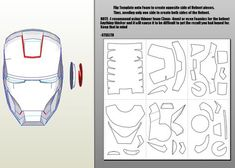 How To Make Iron Man Helmet, Armor, and Chest Piece Complete Guide for Noobs Iron Man Helmet, Helmet Armor, Iron Man Suit, Iron Man Armor, Iron Man Cosplay, Cosplay Diy, Free Cosplay, Iron Men, Iron Man Pepakura