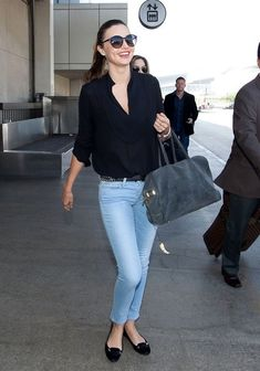 Miranda Kerr - Miranda Kerr Arrives in LA — Part 2
