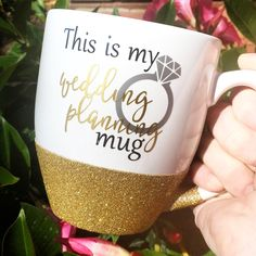 This Is My Wedding Planning Mug (GOLD)