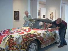 Porsches are art in a new exhibit at the NC Museum of Art beginning Oct. 12.