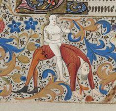 Book of Hours, France 15th century. Bibliothèque de Genève, Ms. lat. 33, fol. 79v