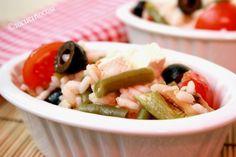 Insalata di riso vegetariana – Ricetta light