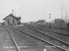 Union Depot  Ashley, Michigan