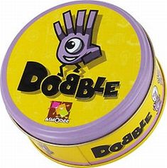 Dobble ~ card games for kids New Year's Games, Fun Board Games, Abc Games, Games For Teens, Adult Games, Sleepover Games, Party Games, Jungle Speed, Goat Toys