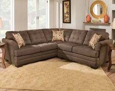 Velocity Umber 2 PC. Sectional Sofa