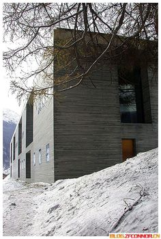 Hot Springs in Vals Switzerland (The Therme Vals). Peter Zumthor. 1996.