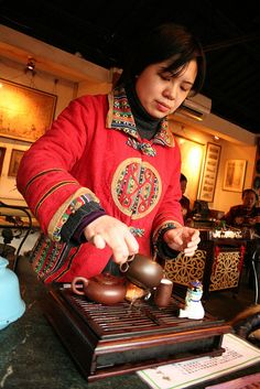chinese tea...a special ceremony we had on one of our tours