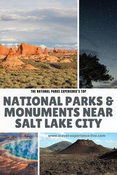 12+ Epic National Parksand Monuments near Salt Lake City, Utah