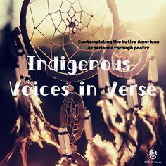New Books, The Voice, Native American, Identity, Lyrics, Poetry, Spirituality, Culture, History