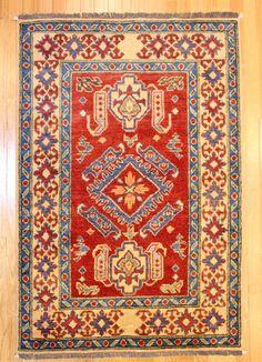 Kazak Tribal Rug TAN80006693 From Pakistan