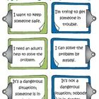 This freebie is a set of 2 posters (one in English, one in French) outlining the difference between reporting (le rapportage) and tattling (porte-p...