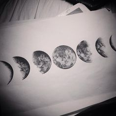 ** PRINTS NOW AVAILABLE ** Phases of the moon print is now available. Size A4, £10, free P&P within UK. For international shipping prints are £15 including P&P . Email alexbawn@hotmail.com if you would like one