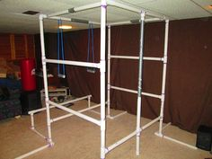 How to Build the Ultimate Bodyweight Gym (Using Only PVC Pipe)