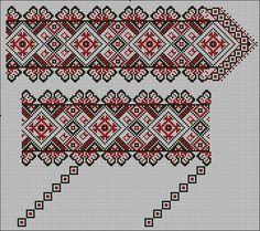 Creative Embroidery, Folk Embroidery, Cross Stitch Embroidery, Embroidery Patterns, Cross Stitch Charts, Cross Stitch Patterns, Palestinian Embroidery, Thread Art, Loom Beading