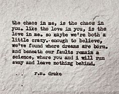 r.m. drake Bless this crazy love ♡