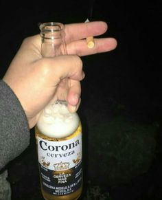 You are my sunshine ✺ Alcohol Pictures, Cigarette Aesthetic, Night Aesthetic, Aesthetic Themes, Alcohol Aesthetic, Vlog Squad, Cute Girl Pic, Beer Bottle, Candle Jars