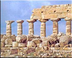 Templo c de Selinunte. Arte griego