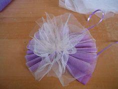 Confection de fleurs en tissu