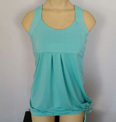 Old Navy Sm teal Loose Fit Active racer back built in bra breathable cinch waist | Clothing, Shoes & Accessories, Women's Clothing, Athletic Apparel | eBay!