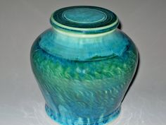 Urn for Decoration or Cremation in Iced by earthtoartceramics, $95.00