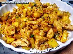 Carne de peru à portuguesa